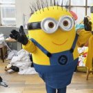 Custom made Two-eyed Minion mascot costume for adult and children