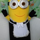 custom made Maid Minion mascot costume for adult and children