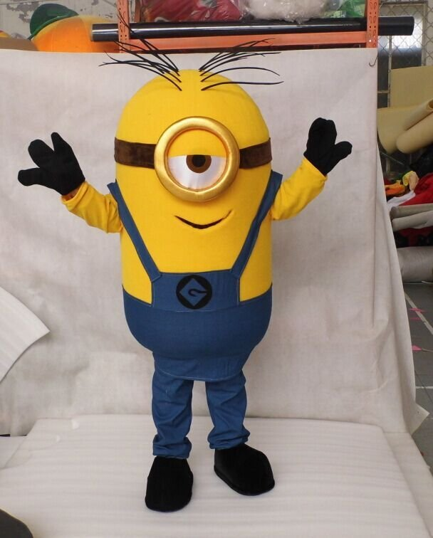 Custom made Despicable Me Minion mascot costume for party