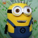 Custom made Despicable Yellow Minion mascot costume for party