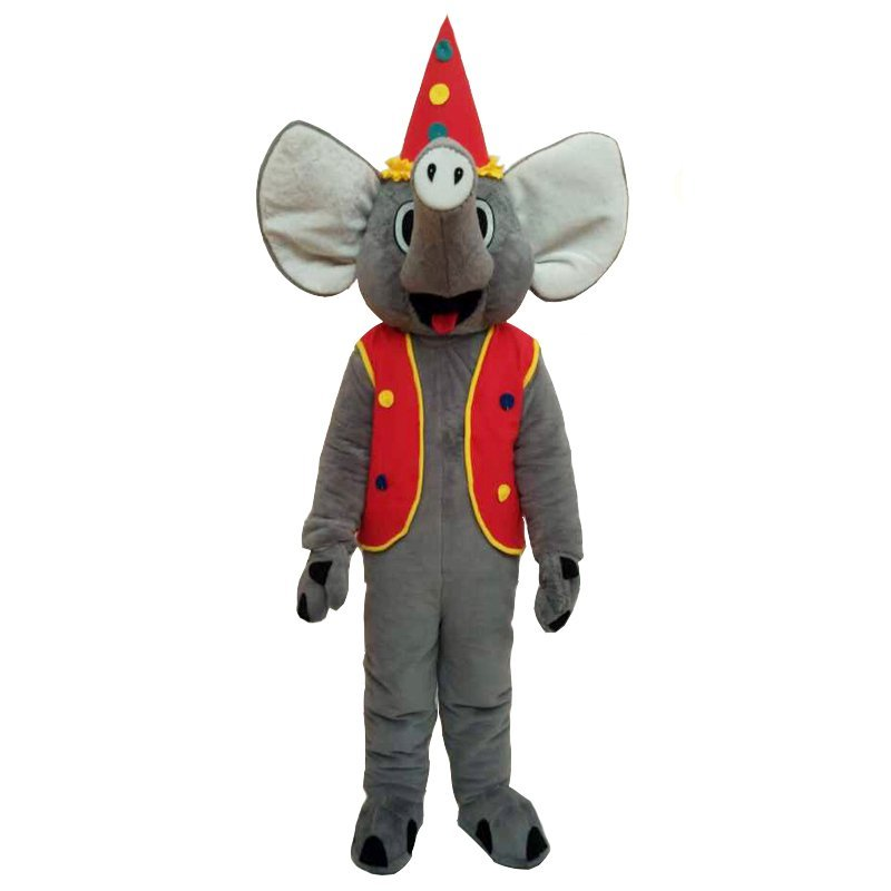 Custom made Elephant mascot costme for party