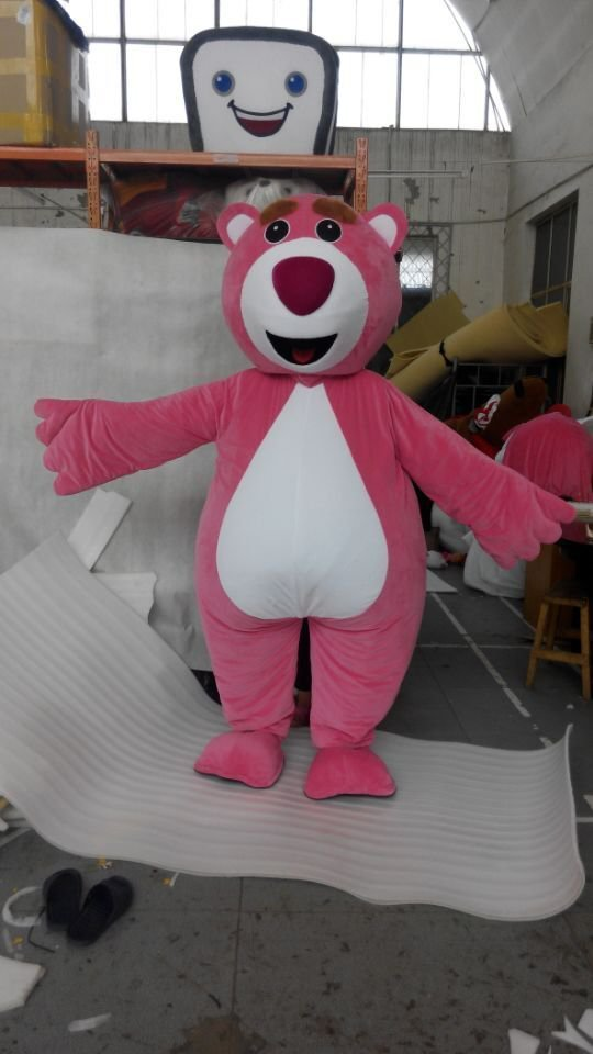 Custom made Lotso Huggin Bear Mascot costume for party