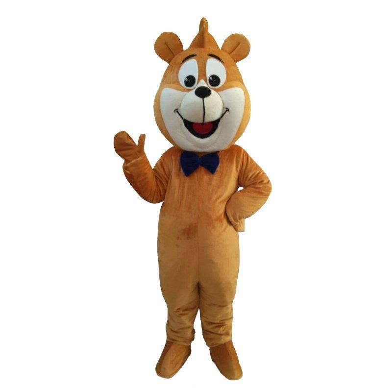 Tan Dog Mascot Costume