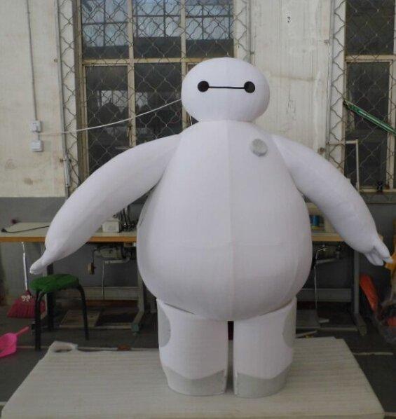 Custom made Baymax mascot costume from Big Hero 6 mascot costume for party