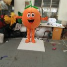 Custom made fruit orange mascot 145