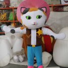 Custom made Sheriff Callie mascot costume from Sheriff Callie's Wild West for party
