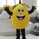 Custom made Fruit Yellow Lemon mascot costume for party