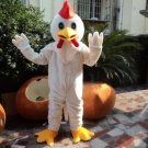 Custom made White Chicken mascot costume for party