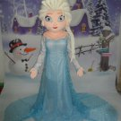 Custom made Elsa mascot costume from Frozen for party
