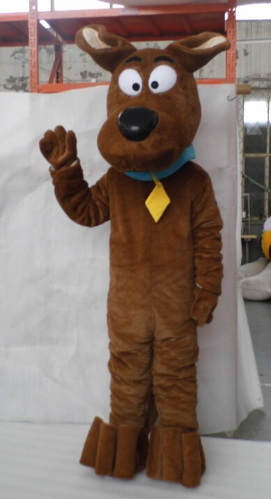 Custom made Scooby Dog mascot costume for party