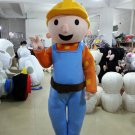 Custom made Bob the Builder mascot costume for party