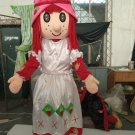 Custom made Charlotte mascot costume Strawberry Girl mascot for party