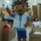 Custom made Diego mascot costume from Dora The Explorer for party