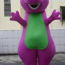 Custom made friendly Barney mascot costumes for Halloween Party