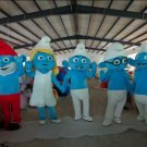 Custom made Lovely Cute Smurf mascot costume for party