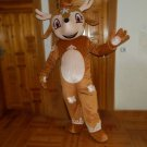 Custom made Rudolph mascot costume Reindeer mascot Rudolf mascot for Christmas party