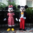 Custom made Micky mascot Minnie mascot for Christmas party