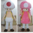 Custom made Toad mascot costume from Super Mario mascot for Christmas party