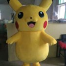 Custom made Pikachu mascot costume for Halloween party
