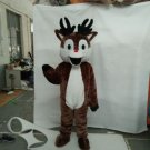 Custom made Rudolph mascot costume for Christmas party