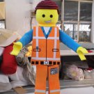 Custom made Lego mascot costume for Halloween party