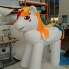 Custom made My Little Pony mascot costume for Halloween party