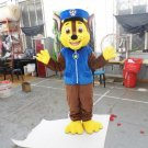 Custom made Yellow Chase Paw Patrol mascot costume for party
