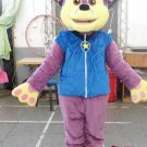 Custom made Purple Chase Paw Patrol mascot costume for party