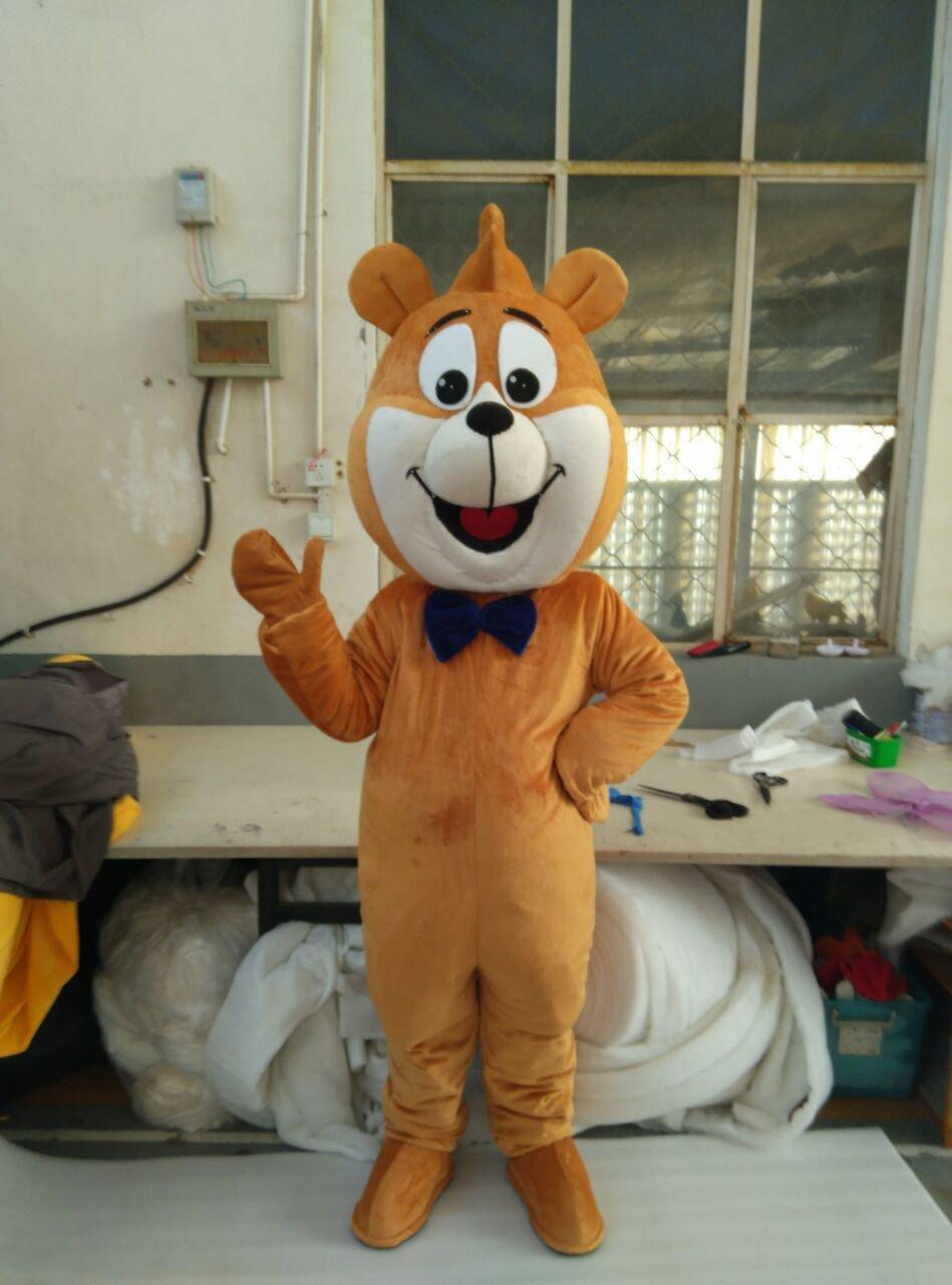 Custom made Boo Boo bear mascot costume cat mascot cstume for party