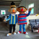 Custom made Bert mascot costume Bernie mascot costume for party