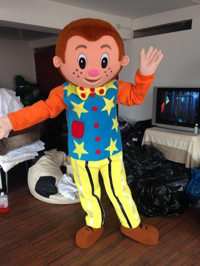 Custom made Mr. Tumble Mascot Costume Monkey mascot costume for Birthday party
