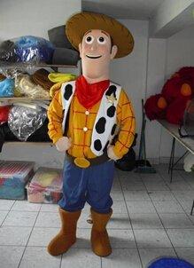 Custom made Sheriff Woody Mascot Costume for Birthday party