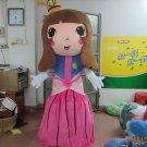 Custom made princess mascot cartoon costume for party