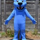 Custom made blue panther mascot costume for party