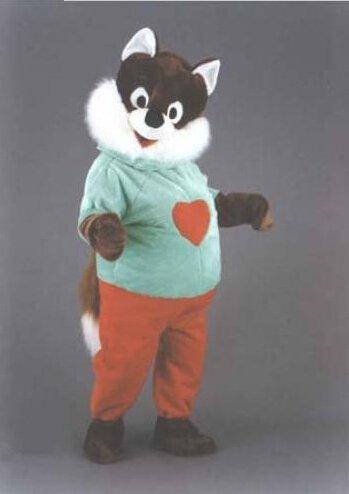 Custom made Red Panda Mascot Costume Lesser Panda mascot for party