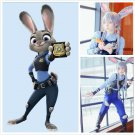 Customized Officier Judy Hopps cosplay costume Judy costume Zootopia costume