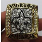 High Quality New Orleans Saints Super Bowl Championship Replica Ring-Free Shipping