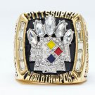 High Quality Pittsburgh Steelers 2005 Super Bowl Championship Replica Ring-Free Shipping