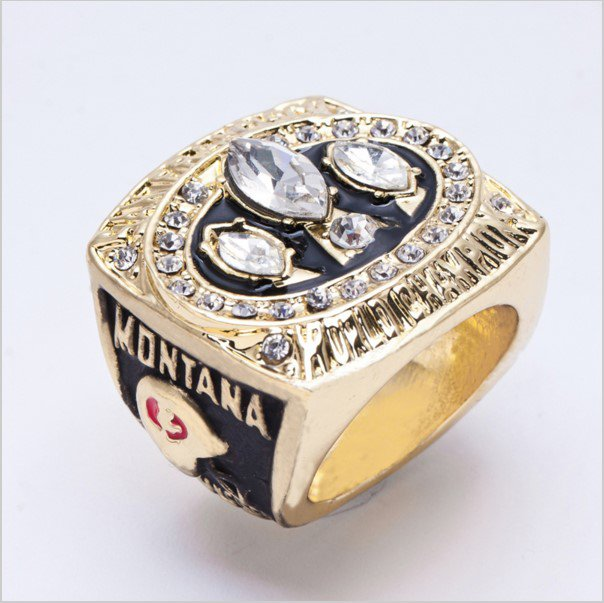 High Quality 1988 San Francisco 49ers Super Bowl Championship Replica Ring-Free Shipping