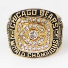 High Quality Walter Payton-1985 Chicago Bears Super Bowl Championship Replica Ring-Free Shipping