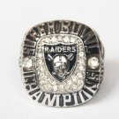 High Quality Oakland Raiders 3 Super Bowl Championship Replica Ring-Free Shipping