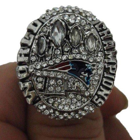 High Quality 2014 New England Patriots Super Bowl Championship Replica Ring-Free Shipping