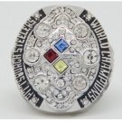 High Quality Pittsburgh Steelers 2008 Super Bowl Championship Replica Ring-Free Shipping