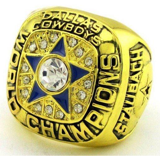 High Quality 1971 Dallas Cowboys Super Bowl Championship Replica Ring-Free Shipping