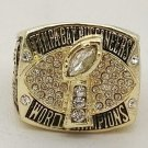 High Quality 2002 Tampa Bay Buccaneers Super Bowl Championship Replica Ring-Free Shipping