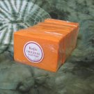 Skin lightening,kojic acid soap, skin whitening soap bar 125gm, with papaya