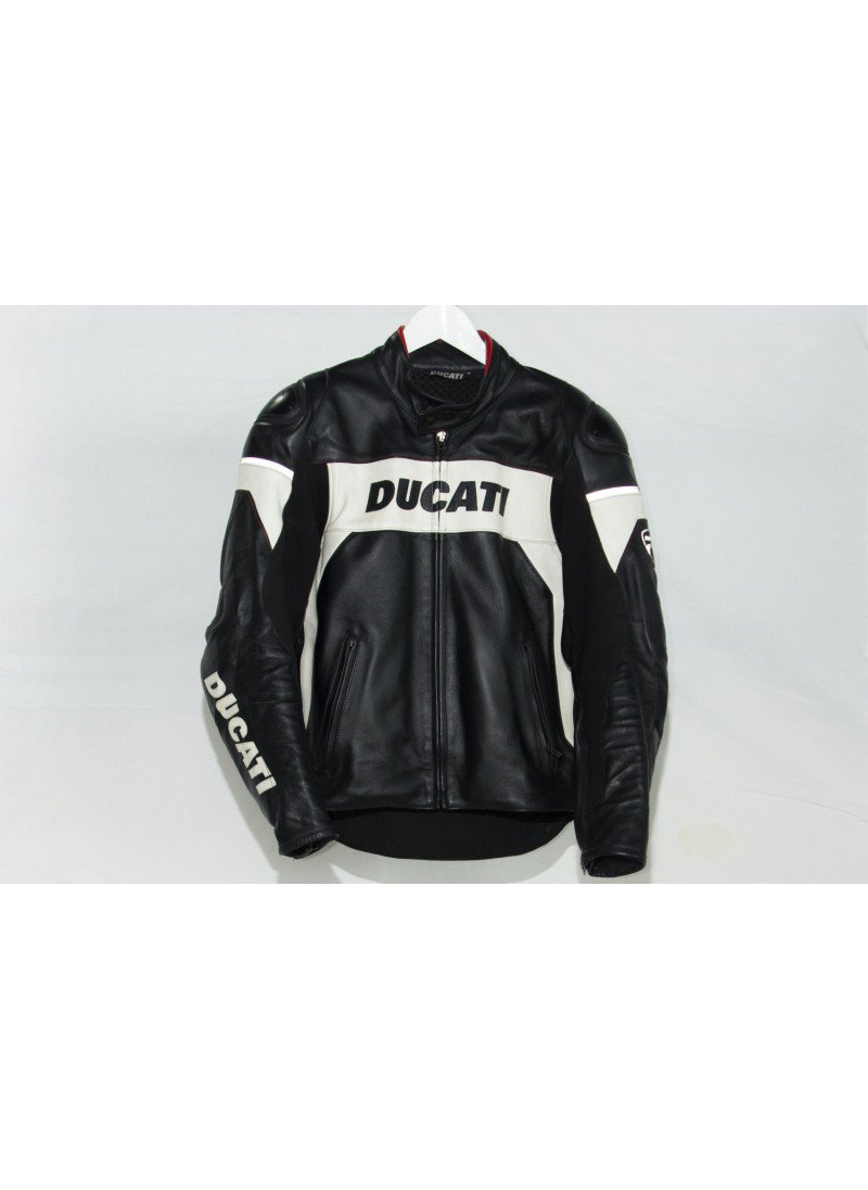Classic motorbike motorcycle LEATHER JACKET with protections