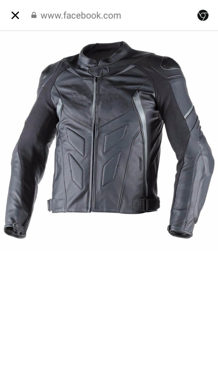 RACING motorbike motorcycle LEATHER JACKET with protections