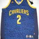 Kyrie Irving Cleveland Cavaliers Adidas 2XL Crazy Lights Swingman Jersey
