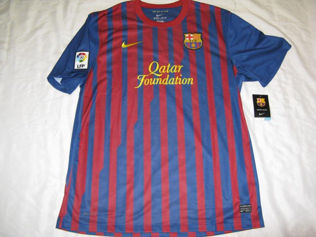 Barcelona FC Nike Dri-Fit Men's XL Home Jersey